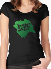 Yorkshire is a state of mind Women's Fitted Scoop T-Shirt