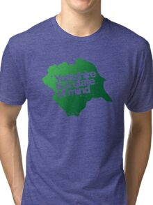 Yorkshire is a state of mind Tri-blend T-Shirt