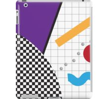 80s Abstract Piece 2 iPad Case/Skin