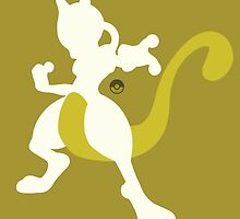 Mewtwo (Yellow) by ejstupid