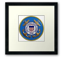 United States Coast Guard Seal Framed Print