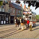 Manchester Horse Tram at Beamish Museum by Hertsman