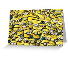 minion orgy Greeting Card