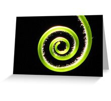 A Tendril Moment Greeting Card