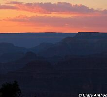 Canyon Serenity  by Grace Anthony Zemsky