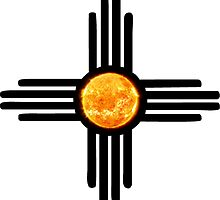 Zia Sun Symbol by MichelleElaine Smith