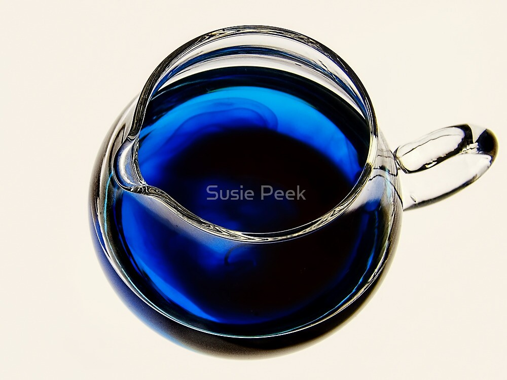 Little Blue Jug by Susie Peek
