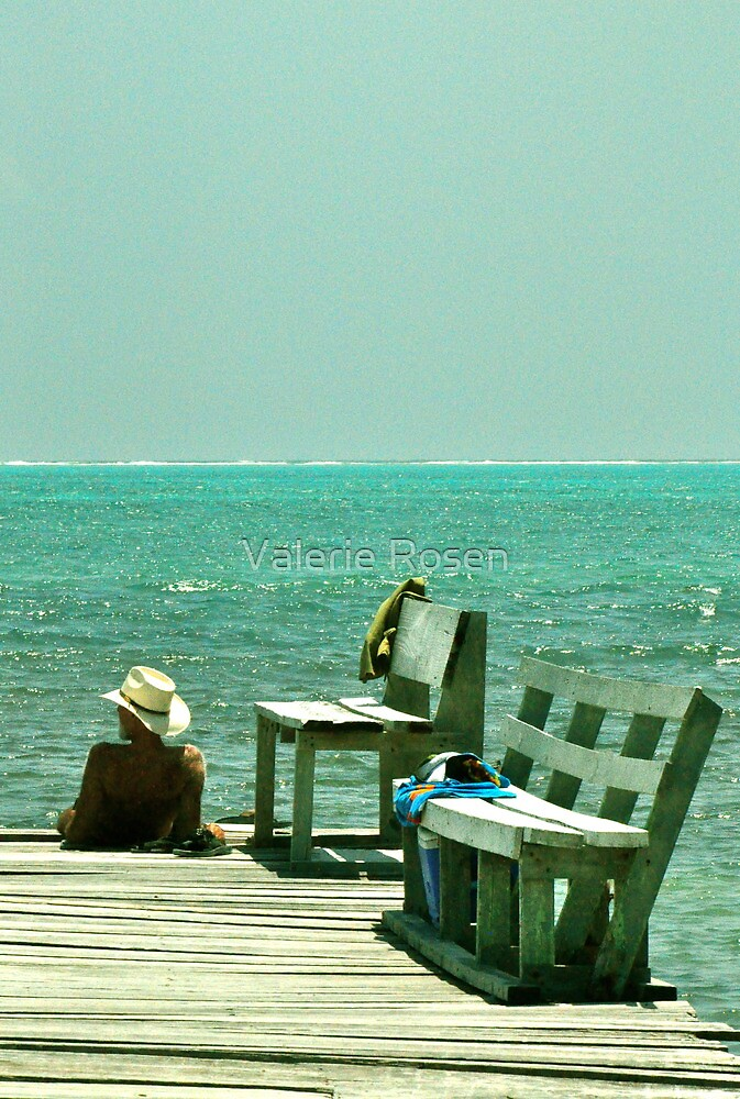 Another Great Day on the Caye by Valerie Rosen