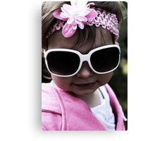 In Pink... Looking Cool Canvas Print