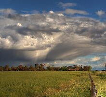 Passing Storm Clouds by David Hunt