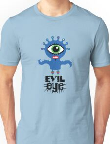 Evil Eye - on lights  T-Shirt