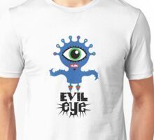 Evil Eye - on lights  Unisex T-Shirt