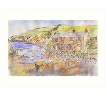 Port Quin Art Print