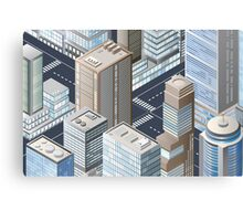 Picture of the city for iPhone Canvas Print