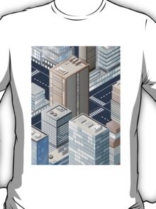 Picture of the city for iPhone T-Shirt