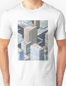 Picture of the city for iPhone Unisex T-Shirt
