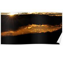 Sunset Sensation Poster