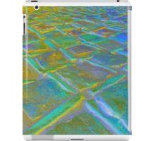 Square Stones Pathway Number 11 iPad Case/Skin