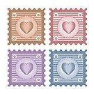 Old stamps  by Alexzel