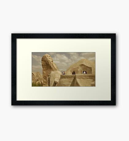 A Less Intricate World Framed Print