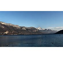 Lake Annecy Photographic Print