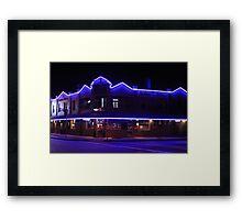 The Blues - Saturday Night Framed Print