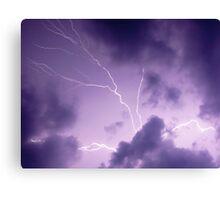 Summer Storm Canvas Print