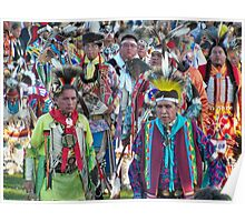 Native American Dancers ~POW WOW Poster