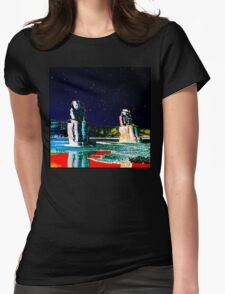 NIGHT SKY: The Colossi of Memnon Womens Fitted T-Shirt