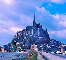 Mont Saint Michel II by David Davies