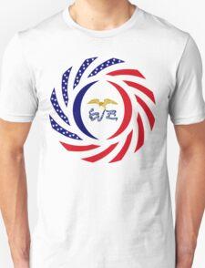 Iowa Murican Patriot Flag Series Unisex T-Shirt