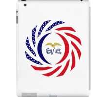 Iowa Murican Patriot Flag Series iPad Case/Skin