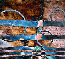 Untitled abstraction by Susan Ringler