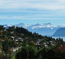 Swiss Mountain scene by Kiriel