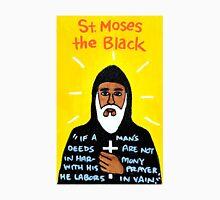 St. Moses the Black Religious Folk Art Unisex T-Shirt