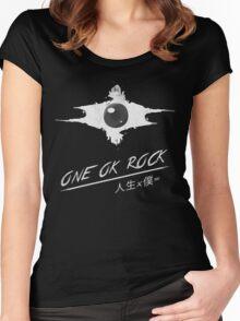 ONE OK ROCK - Jinsei x boku = Women's Fitted Scoop T-Shirt