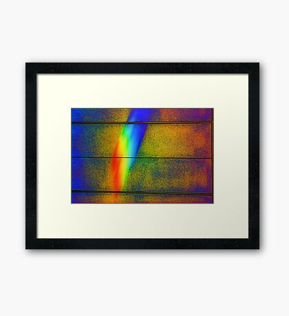 To Paint With Light Framed Print