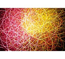 Light Swirl Photographic Print