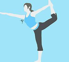 Wii Fit Trainer ♀ by ejstupid
