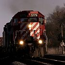 Canadian National passing through by jammingene