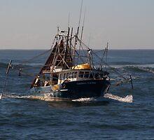 Tweed trawlers (cal image #13) by Odille Esmonde-Morgan