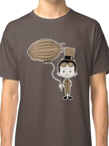 Little Inventor Flying His Airship Classic T-Shirt