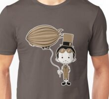 Little Inventor Flying His Airship Unisex T-Shirt