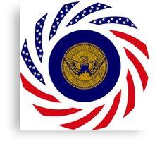 Atlanta Murican Patriot Flag Series Canvas Print