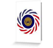 Atlanta Murican Patriot Flag Series Greeting Card