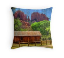Sedona's Cathedral Rock Throw Pillow