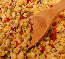 Fresh Corn Salsa by Allen Lucas