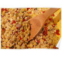 Fresh Corn Salsa Poster