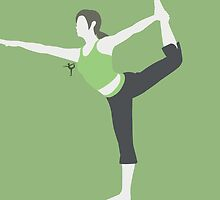 Wii Fit Trainer ♀ (Green) by ejstupid