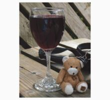 Little old wine teddy me Kids Clothes